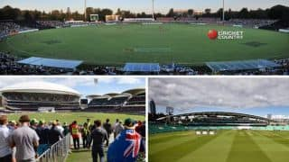 Cricket Ovals around the world: An elliptical study