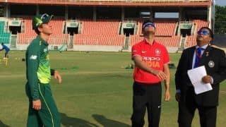 India A U19s beat South Africa U19s by 157 runs in first Youth ODI