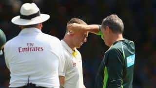 Ashes 2015: Chris Rogers thought Lord's grandstand was moving, says David Warner