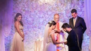 PHOTO: Dinesh Karthik and Dipika Pallikal's Christian wedding