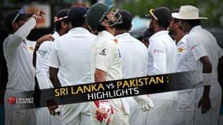 Sri Lanka vs Pakistan 2015, 2nd Test Day 3, Highlights: Ahmed Shehzad and Azhar Ali's half-centuries and more