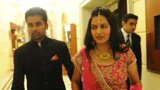 R Vinay Kumar ties knot with Delhi-based girl