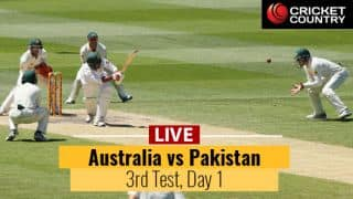 Live Cricket Score, Pakistan vs Australia, 3rd Test at Sydney, Day 1: AUS in command at stumps