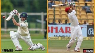 One-off Test: Afghanistan and Ireland chase historic Dehradun win