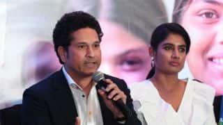 Sachin Tendulkar's pep talk will benefit India women, says Mithali Raj