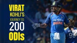 Infographics: Virat Kohli's evolution in 50-overs cricket leading to 200 ODIs