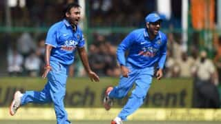 Mishra,  Ashwin star as India restrict West Indies to 142-9
