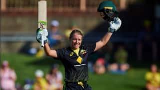 सबसे तेज टी20 शतक लगाने वाली ऑस्ट्रेलियाई खिलाड़ी बनी एलीसा हेली; तोड़े विश्व रिकॉर्ड