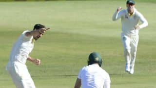 Mitchell Starc destroys South Africa; Australia lead by 189 at stumps on Day 2, 1st Test
