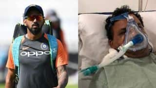 KL Rahul donates huge sum of money to ailing Baroda cricketer Jacob Martin