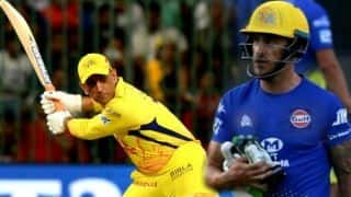 Faf Du Plessis says MS Dhoni Can Make Life Tough for Any Captain