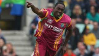 South Africa vs West Indies, 1st ODI at Durban: Jerome Taylor gets Rilee Rossouw and Faf du Plessis