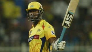 Dwayne Smith gets 5,000 T20 runs during IPL 2015 RCB-CSK match