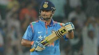 Suresh Raina rested for fifth ODI against Sri Lanka
