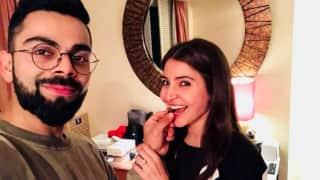 Virat Kohli's love-filled tweet on wife Anushka Sharma's 30th birthday