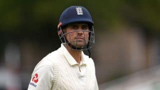 Expectant father Alastair Cook could miss fourth Test versus India