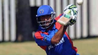 Asghar Stanikzai's half-century steers Afghanistan to 153/7 against Sri Lanka in ICC T20 World Cup 2016