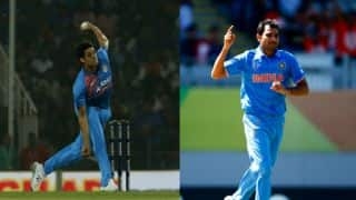 ICC Champions Trophy 2017: Indian selectors contemplate between Ashish Nehra and Mohammed Shami
