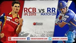 Royal Challengers Bangalore vs Rajasthan Royals, IPL 2015, match 29: Preview
