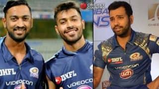 IPL 2017: 'Fun to watch Pandya brothers from dug-out,' says Mumbai Indians captain Rohit Sharma