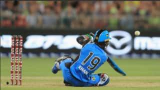 Watch: Rashid Khan plays most entertaing six-ball inning of BBL 2018