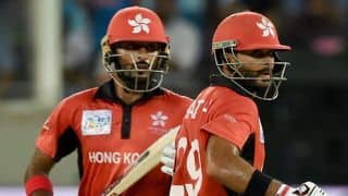 We were in a position to win against India and probably should have: Hong Kong captain Anshuman Rath
