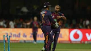 IPL 2017: It's an honour to play with MS Dhoni, says Imran Tahir after Rising Pune Supergiant (RPS) beat Sunrisers Hyderabad (SRH)