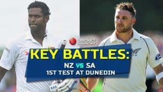 New Zealand vs Sri Lanka 2015, 1st Test at Dunedin: Key battles from the clash