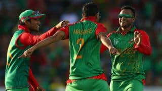 Afghanistan losing plot thick and fast against Bangladesh at Canberra