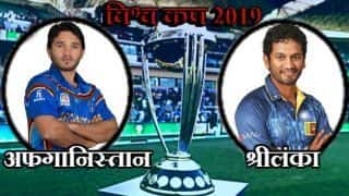 AFG vs SL, Match 7, Cricket World Cup 2019, LIVE streaming: Teams, time in IST and where to watch on TV and online in India