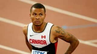 Andre de Grasse wins 100m sprint at Bislett Games