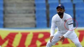 एंटीगा टेस्ट के तीसरे दिन काली पट्टी बांधकर उतरी टीम इंडिया, ये है वजह