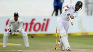 South Africa accelerate post lunch against India on Day 4 of 2nd Test; score 450/7