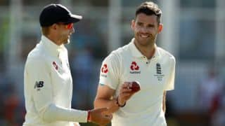 West Indies vs England: James Anderson takes 5 wicket haul, Windies bowled out at 289