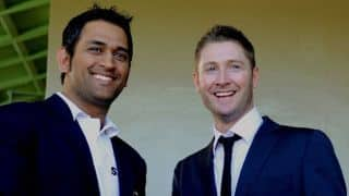 MS Dhoni knows how to react to any given situation; Says Michael Clarke
