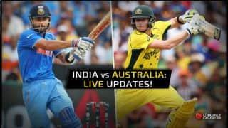 ऑस्ट्रेलिया ने भारत को पहले एकदिवसीय में पांच विकेट से हराया