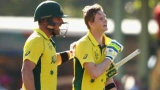 India vs Australia, 3rd ODI: India need 294 runs to win, Aaron finch scores century
