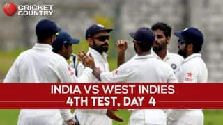 IND vs WI 4th Test, Day 4 Live Updates: Play called off