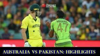 Australia vs Pakistan, ICC Cricket World Cup 2015 Quarter-Final 3 Highlights: Josh Hazlewood's disciplined bowling, Wahab Riaz's nightmarish spell, Steven Smith's adhesive innings and more