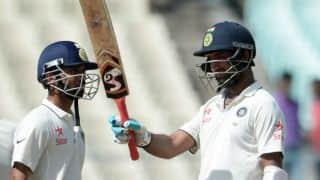 India vs New Zealand, 2nd Test, Day 1: Cheteshwar Pujara, Ajinkya Rahane dominate the proceedings