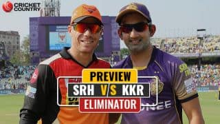 SRH vs KKR, IPL 2017, Eliminator, preview and likely XI: Kolkata's chance to avenge 2016