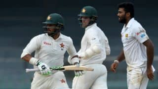 Raza, Zimbabwe tail snowball 262-run lead against SL at stumps, Day 3 of Colombo Test