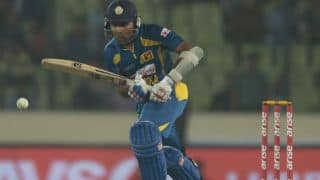 England vs Sri Lanka ICC World T20 2014: Sri Lanka steady ship after losing Kusal Perera; score 35/1