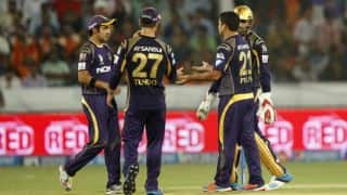 IPL 2014: Sunrisers Hyderabad (SRH) vs Kolkata Knight Riders (KKR), Match 43 at Hyderabad