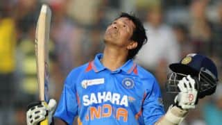 Tendulkar: Scoring 100th ton was tough due to pressure