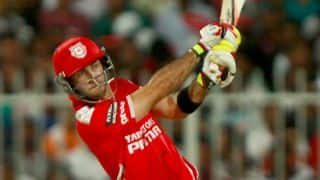 Kings XI Punjab (KXIP) vs Hobart Hurricanes Live Cricket Score CLT20 2014, 2nd Match at Mohali