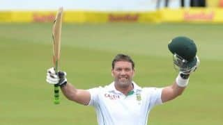 Jacques Kallis receives award from South Africa President for contribution to cricket