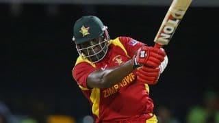 Zimbabwe's record vs Afghanistan 2015-16, 3rd ODI at Sharjah