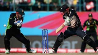 James Faulkner, Glenn Maxwell restrict New Zealand at 142 for 8 in Super 10 stage, World T20 2016 at Dharamsala