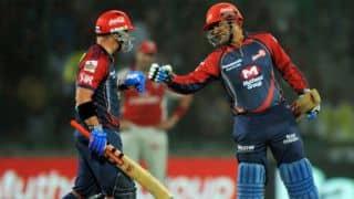 Sehwag, David Warner smash 146 runs in less than 12 overs